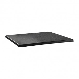 Topalit Classic Line Rectangular Table Top Anthracite 1100 x 700mm