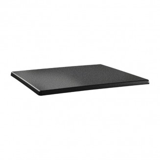 Topalit Classic Line Rectangular Table Top Anthracite 1200 x 800mm