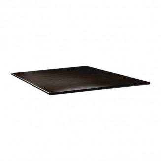 Topalit Smartline Square Table Top Wengé 800mm