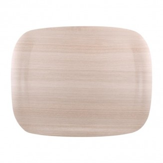 Roltex Wave Service Tray Light Wood Grain 460 x 360mm